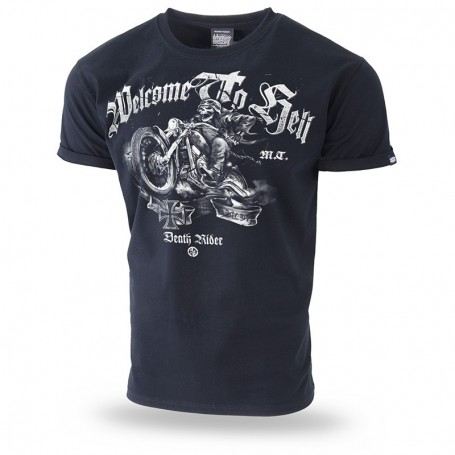 Kratka majica Doberman's Aggressive Dr Welcome to hell Črna TS188