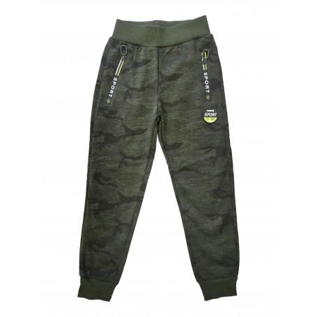 Otroške hlače - trenirka - MR JEK / woodland 4-12 let