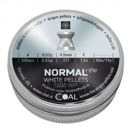 Metki COAL Normal Rifle WP 500 4.5 / .177 - ploščati