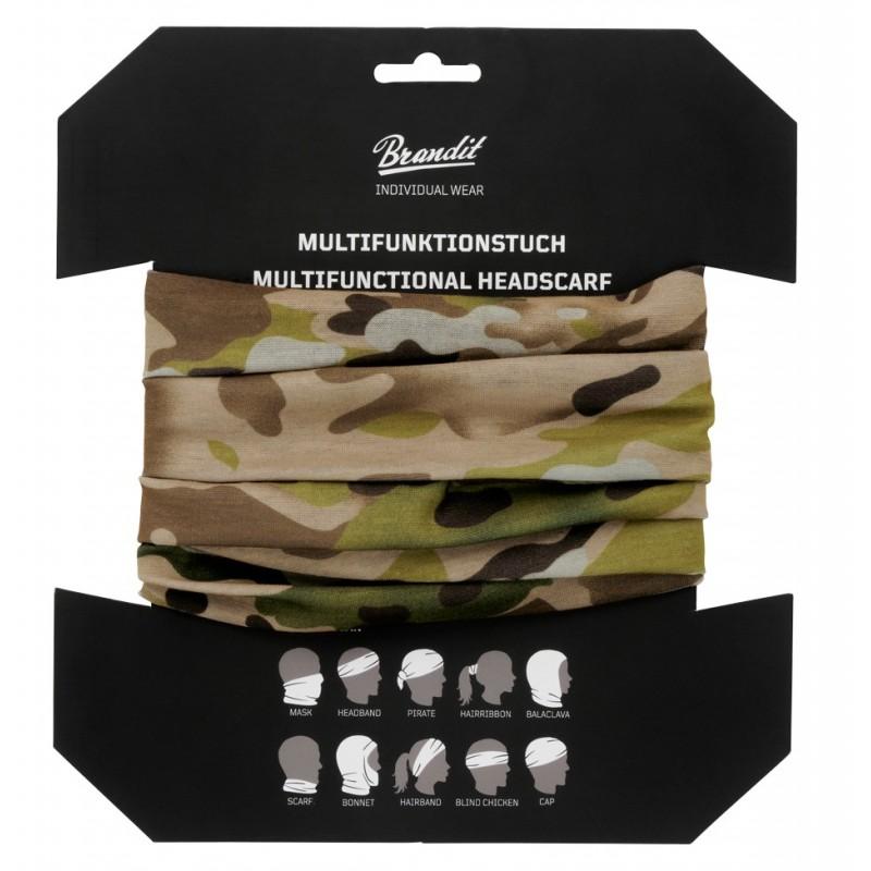 Večnamenska rutka - Buff Multi Tactical Camo