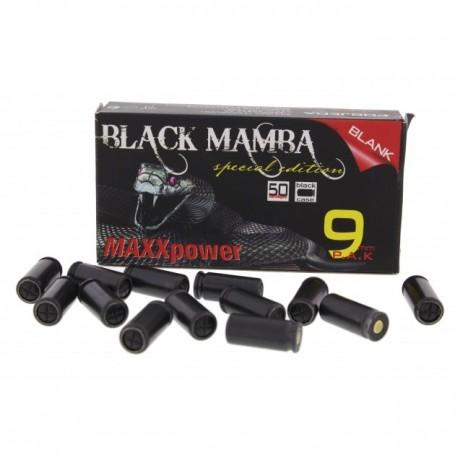 Naboji Slepi 9mm P.A.K. MaxxTech Balck Mamba (50 kos)