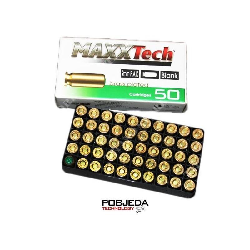 Naboji Slepi 9mm P.A.K. MaxxTech (50 kos)