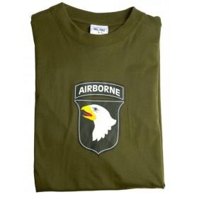 T-majica army AIRBORNE Olivna
