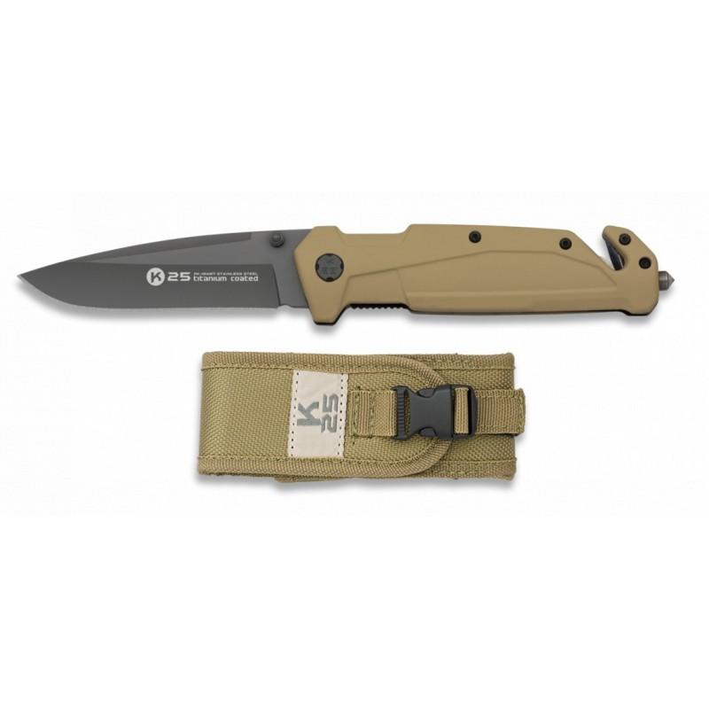 Preklopni nož K25 Rubber 18487