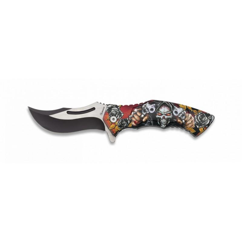 Preklopni nož SKULL 3D 18598