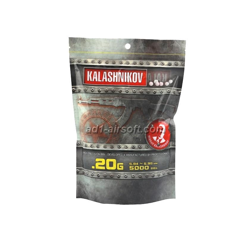 0,20g / 5000 BB kroglic KALASHNIKOV