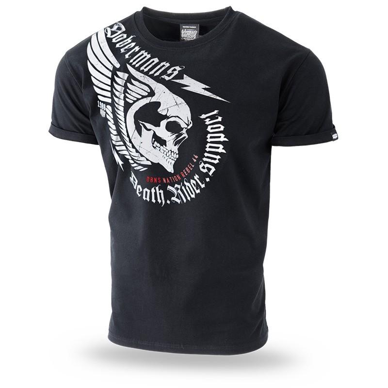 Kratka majica Doberman's Aggressive Death Rider Črna