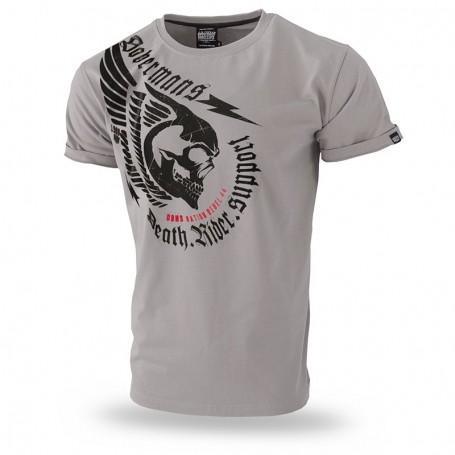 Kratka majica Doberman's Aggressive Death Rider Bež